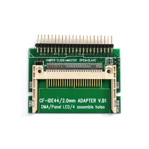 44 Pin CF To IDE Compact Flash Card Adapter Bootable IDE 2.5 Female HDD Adapter Laptop CF to 44 Pin IDE Free Drop Shipping laptop pcmcia compact flash cf card reader adapter