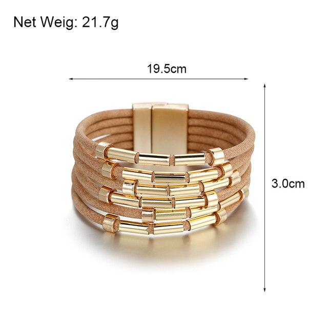 Boho Bracelet Size Dimensions