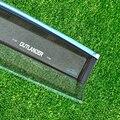 Ventanillas del coche visera visera de protección cubierta de pegatinas para mitsubishi outlander 2013-2016 material de acrílico 4 unids