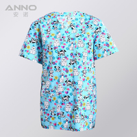 Free Shipping Resistant To Rinsing Unisex Filter Bleaching Beauty Centre Hospital Uniform Medical Scrubs TOP
