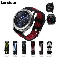 Lerxiuer Gear S3 Frontier strap For Samsung Galaxy watch 46mm 22mm band S 3 Classic correa bracelet huawei gt