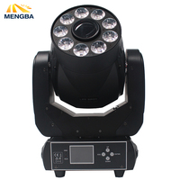 super 90W Spot+Wash 2IN1 Led Moving Head Light white+9x12W RGBWA UV 6IN1 LEDS 6 gobos for DJ Party