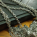2015 New Style 10 Meter 4.5mm wide Stainless Steel Oval Chain Jewelry Finding /Marking Chain For DIY  Necklace Bracelet