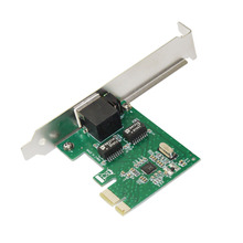 10/100/1000M RJ-45 RJ45 Gigabit Ethernet LAN низкопрофильный PCI Express(PCIe) сетевой контроллер карта LAN адаптер конвертер для ПК