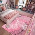 Мягкие Полиэстеровые перьевые стильные ковры для гостиной  спальни  детской комнаты  домашний ковер  напольный коврик для двери  скандинавс...
