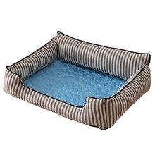 Летний охлаждающий коврик для домашних животных кровати собаки