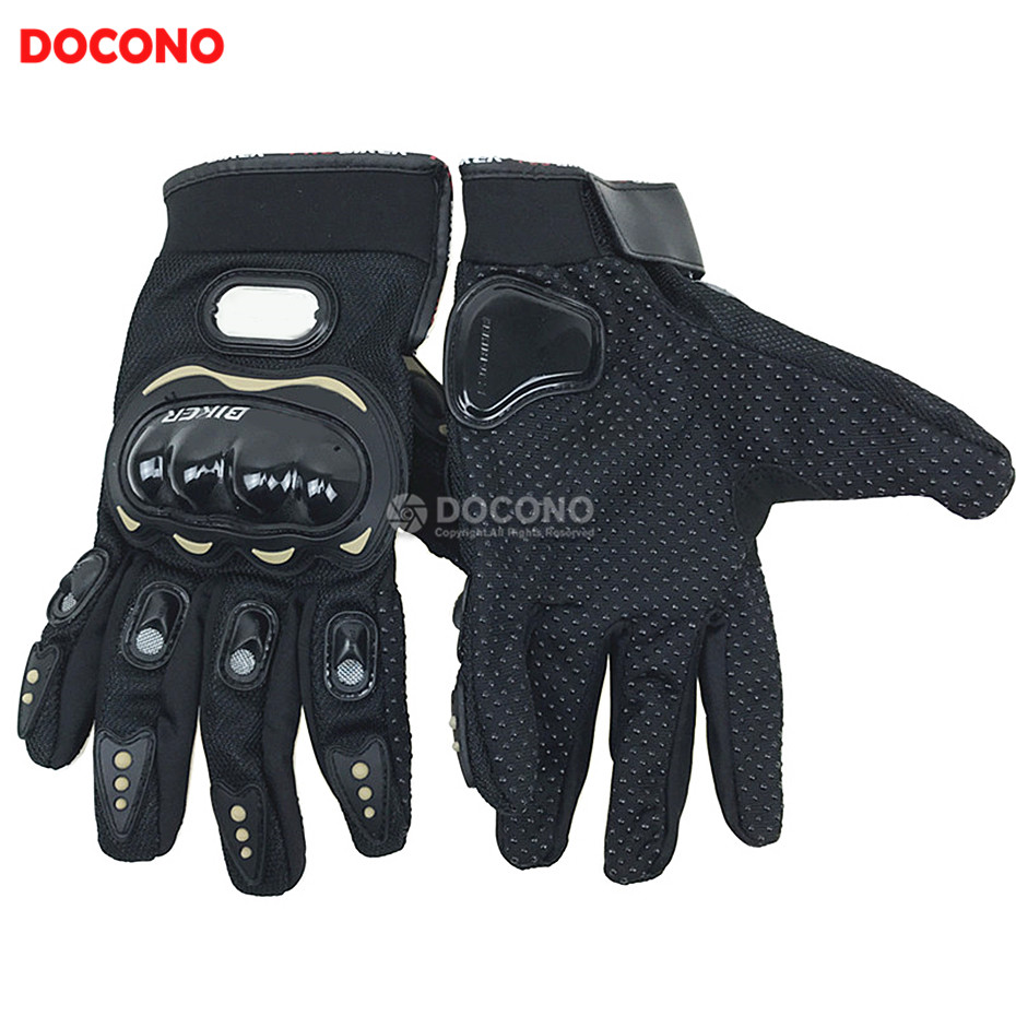 DOCONO Touch Screen Motorcycle leather racing gloves Men and women gloves Mountaineering outdoor gloves Full finger gloves