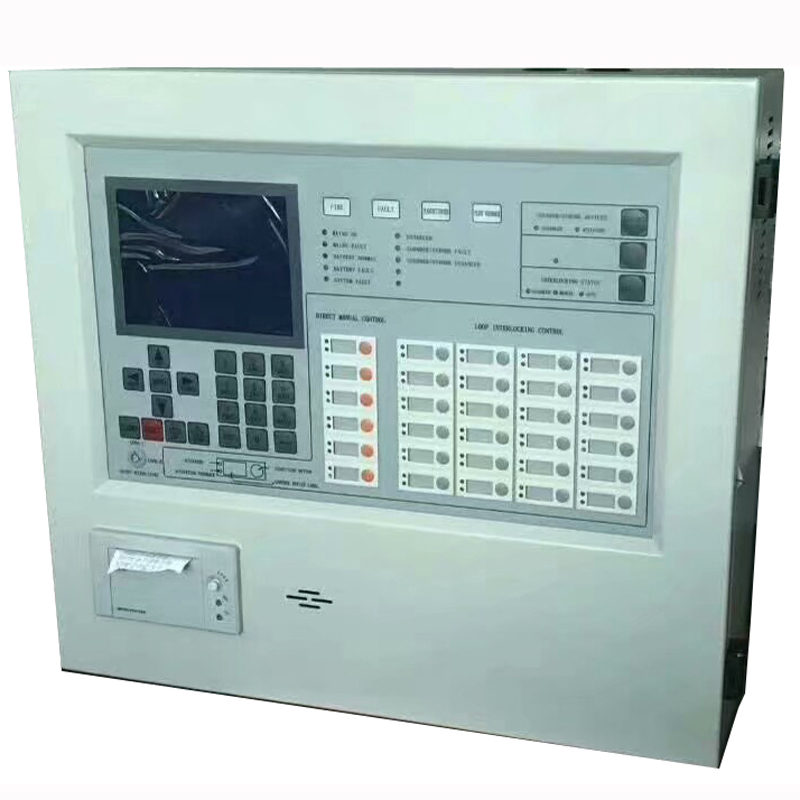 Addressable  Fire Alarm Control Panel   Intelligent FACP 1 Or 2 Loops Linkage Controller Optional