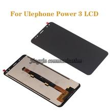 Novo original para ulefone power 3 display lcd digitador componentes para ulefone power 3 s tela lcd componentes