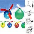 New Hot 1 pc Engraçado Helicóptero Balão Voando Ao Ar Livre Jogando Educacional Crianças Brinquedos