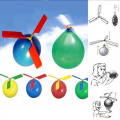 New Hot  1pc Funny Balloon Helicopter Flying Outdoor Playing Educational Kids Toys