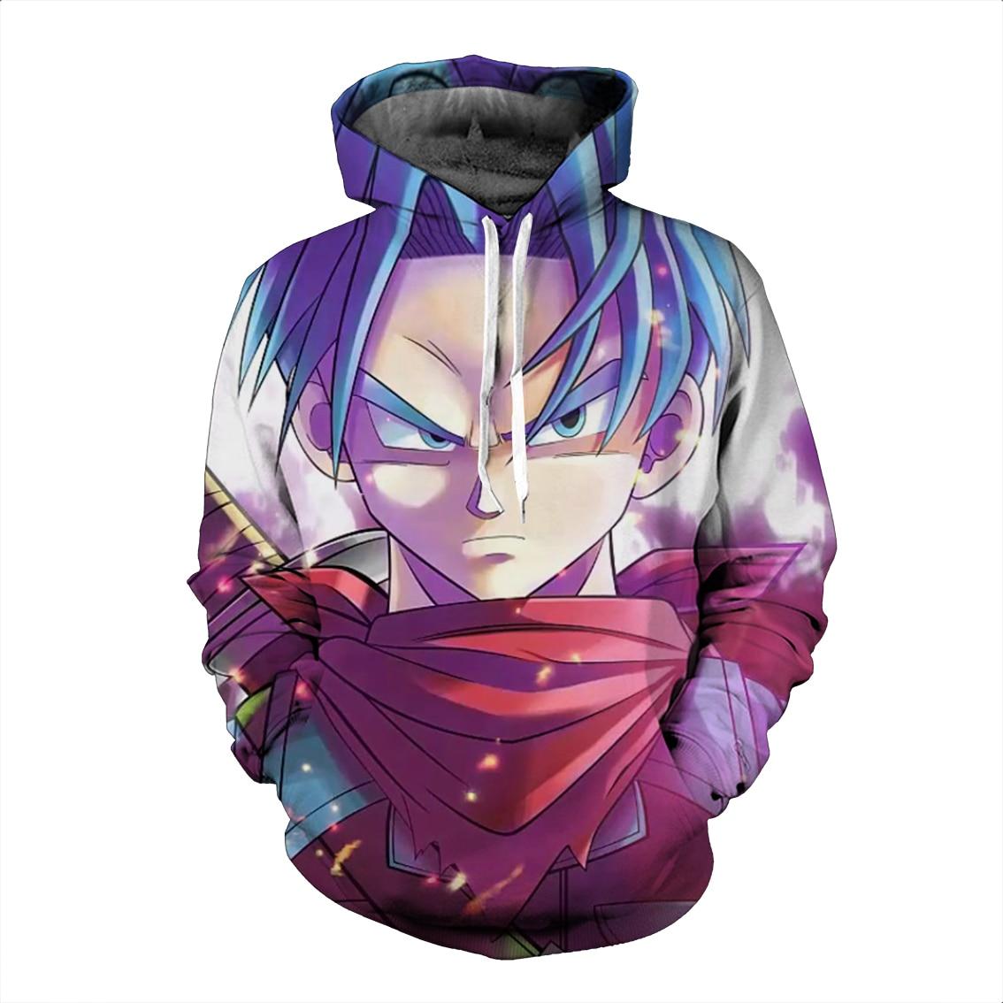 dragon ball z 3d hoodies pullovers sweatshirts anime