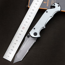 High quality SOG Survival Knife Pocket Folding Knife 440 Steel Blade Hunting Tactical Knives Camping Outdoor EDC Tools K162