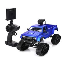 1/16 Schaal RC Truck 480P HD Camera 4WD Elektrische RC Crawler Truck 2.4GHz High Speed Monster Truck 20-25Mins levensduur Road Buggy(China)