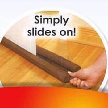 Twin door draft dodger guard stopper energy save window protector doorstop decor.jpg 350x350