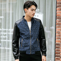 Fashion Jackets Young Leader Slim Trends Wild Casual Jackets