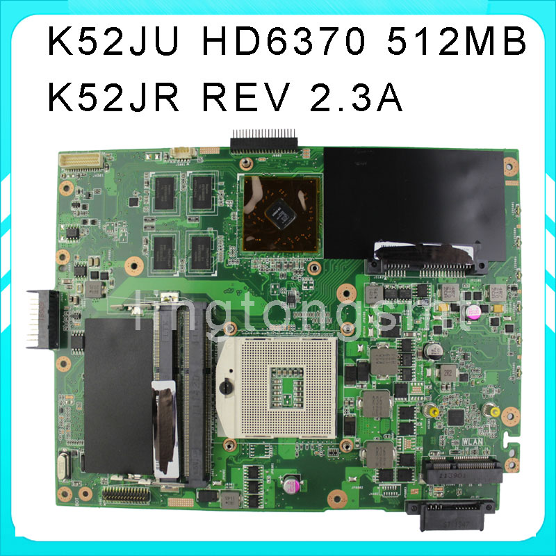 Original for ASUS K52JU Motherboard K52JR REV2.3 Mainboard GeForce AMD Radeon HD 6370M 512MB HM55 Chipset 100% Tested ju m chrysanthemum tea herbal tea stone ju m premium ju m 50g