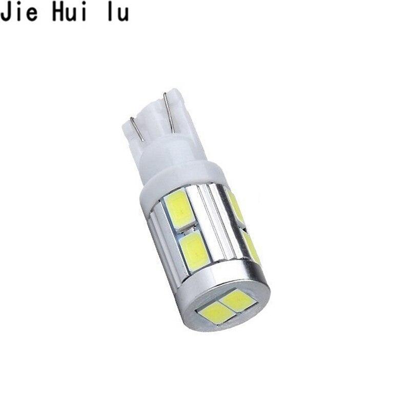 LED T10 194 W5W 10 smd 5630 LED Light Bulb Auto light parking Side Lights car styling DC12V 1pcs