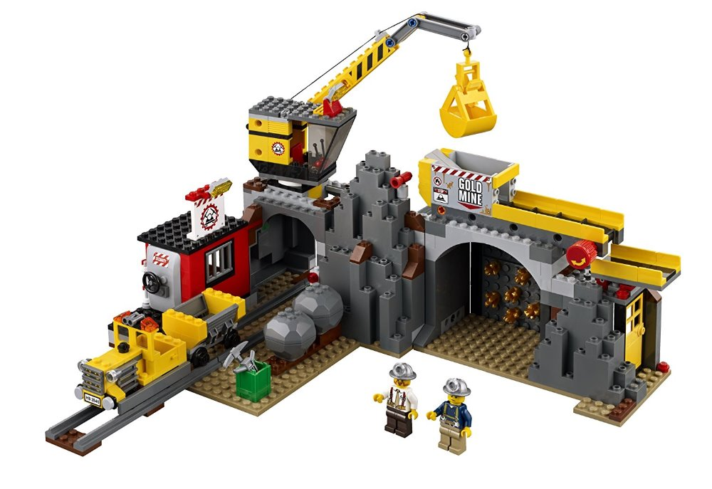 Lepin 02071 City Series the City Mine Set Model & Building Blocks Bricks 4204 Educational Children Toys Christmas Gift lepin 16030 1340pcs movie series hogwarts city model building blocks bricks toys for children pirate caribbean gift
