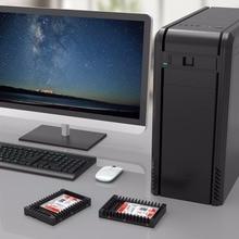 НОВЫЙ 2,5 до 3,5 дюйма адаптер для жесткого диска карман для жесткого диска Поддержка SATA 3,0 Поддержка 7/9,5/12,5 мм 2,5 дюймов SATA HDD и SSD