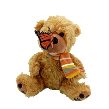 Electronic Interactive Toys Butterfly bear Electric Pets Plush hairy scarf nose butterfly Smart Toy Gifts Furbiness