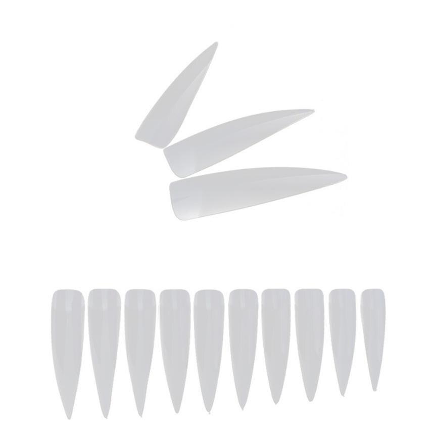 500PCS Conjunto mezclado Falsos puntas largas para uñas Artificial - Arte de uñas - foto 3