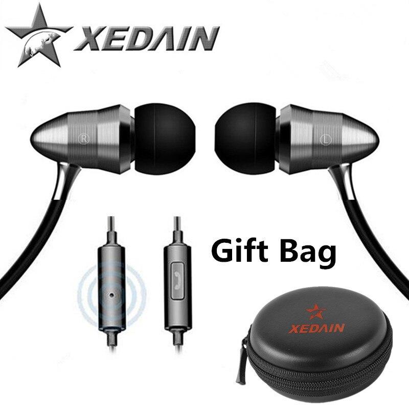 3.5mm sport Earphones Super Bass metal Headphone hifi running headsets stereo earbuds for iphone4/5/6 Samsung MP3 P4 XEDAIN X8
