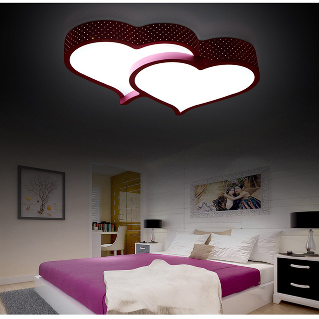 Buy modern heart shaped led ceiling for Zoom room design