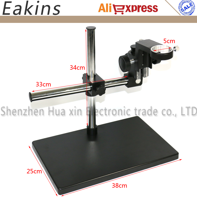 Big Size Adjustable table Stand Holder +Multi-axis Adjustable Metal Arm for Lab Industry Microscope Camera bullet camera tube camera headset holder with varied size in diameter