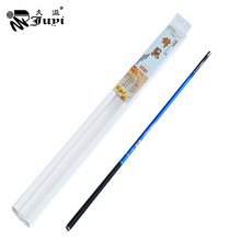 JUYI 99% Carbon Fiber Hand Fishing Rod Telescopic Ultra Light Pole Carp Fishing Rod 3.6M 4.5M 5.4M for Stream River Pond Fishing