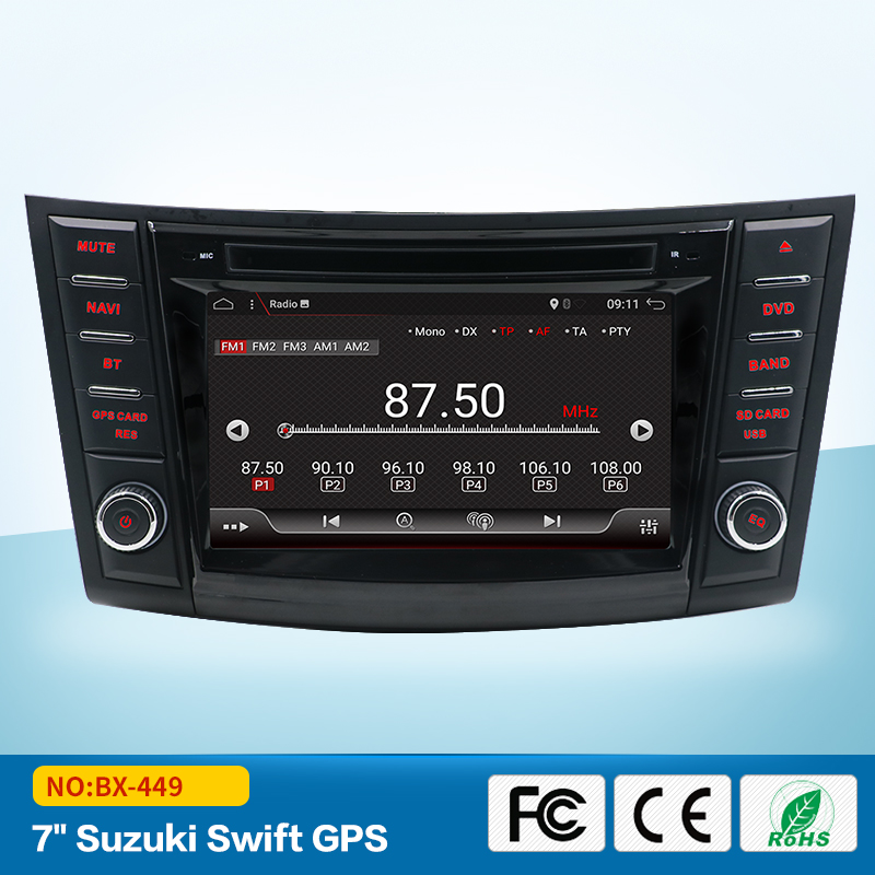 2din Android 7.1 Car dvd player for SUZUKI SWIFT 2011 2015 CAR DVD GPS NAVIGATION SYSTEM RADIO MULTIMEDIA HEAD UNIT STEREO