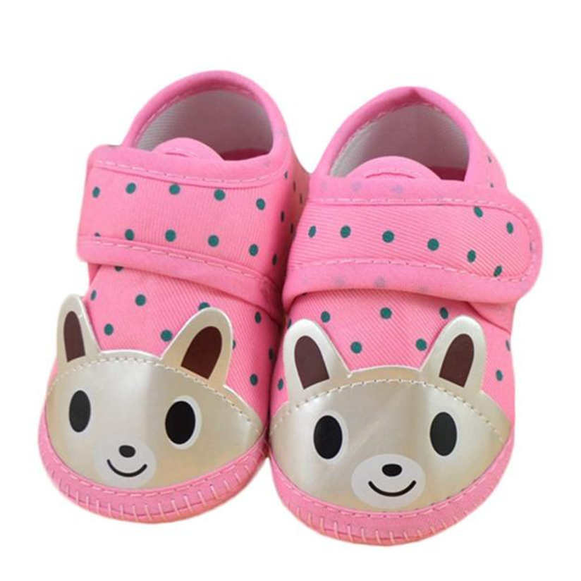 Baby Shoes Newborn Girl Boy Soft Sole Crib Toddler Shoes Canvas Sneaker Safe Soft with Free Shipping AP25