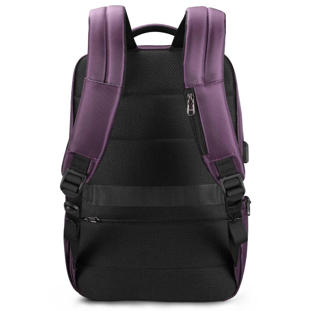Tigernu зарядки городской 15,6-дюймовый ноутбук рюкзак мужской противоугонная сумка RFID для школьных поездок деловых женщин рюк