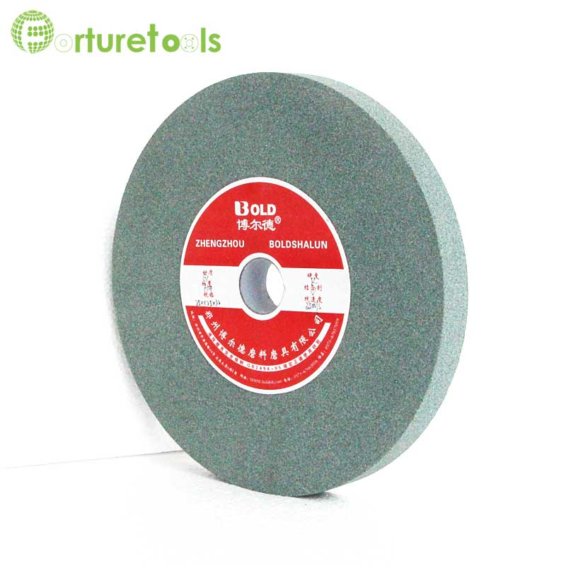 1 piece White green brown grinding wheel 6 inch diameter 32mm hole GC WA A grinding wheel abrasive wheel grain size 46 ~120 TZ79