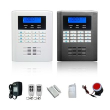 2014 New design dual band font b Home b font security System Wireless SMS GSM font