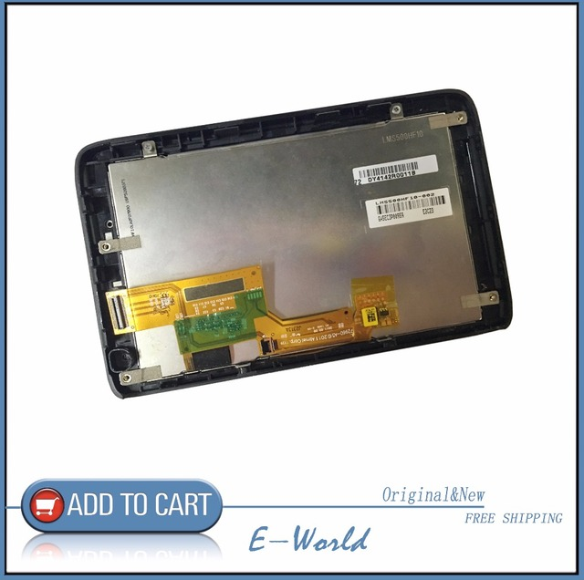 Original 5inch LCD screen with Touch screen LMS500HF10-003 for TOMTOM GPS free shipping