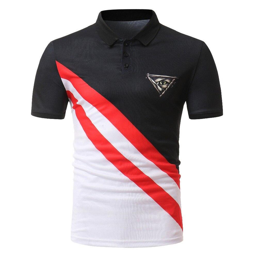 Clever Marke Männer Kleidung Neue Männer Polo Shirt Männer Business Casual Feste Männliche Polo Shirt Kurzarm Polo-shirt Plus Größe 3xl