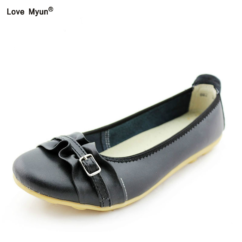 Women Flats Spring Autumn Brand Women Shoes Women Sneakers Female Casual Shoes Soft Comfortable Pointed Toe Plus Big Size 668 cresfimix zapatos women cute flat shoes lady spring and summer pu leather flats female casual soft comfortable slip on shoes