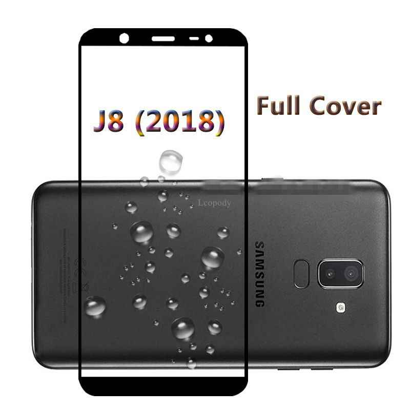 Full Cover Tempered Glass For samsung Galaxy J8 J810F/DS J810G/DS Screen Protector Protective Film for SAMSUNG J8 J810F Glas