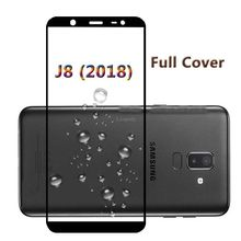 Full Cover Tempered Glass For samsung Galaxy J8 J810F/DS J810G/DS Scre