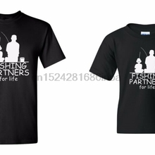 89c328ef Fishing Partners Shirts Father And Son Daughter Matching SET Tee Fathers Day (China)