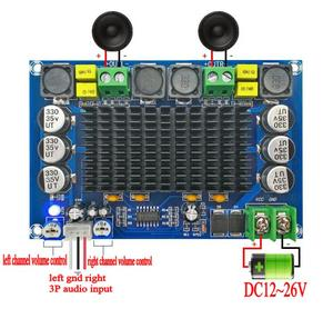 Image 1 - TPA3116D2 150W*2 Dual channel Stereo High Power Digital Audio Power Amplifier Board with TL074C OPAMP
