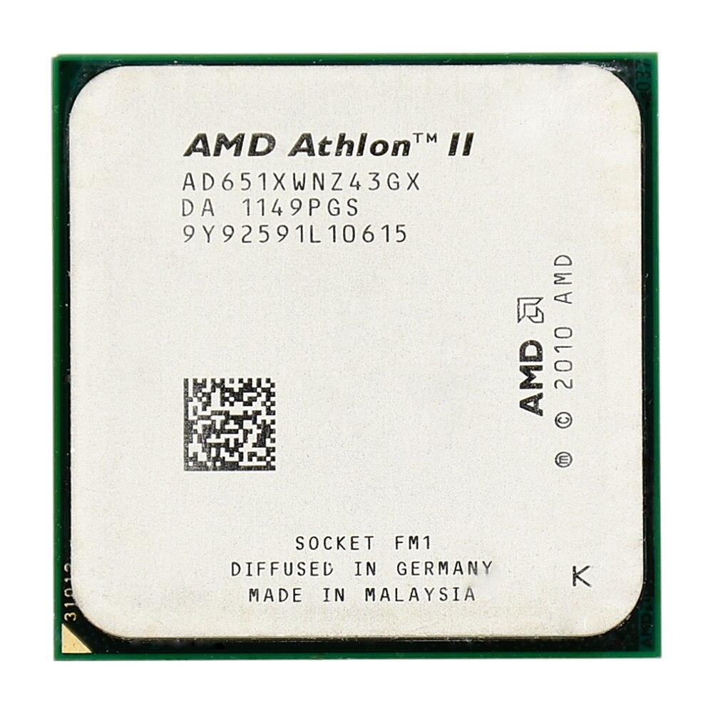 AMD Athlon II X4 651 4 MB 32nm 100 W. 0 GHz Quad-Core Socket FM1 CPU Processeur