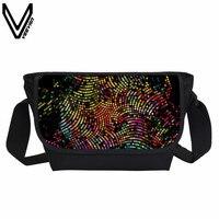 VEEVANV זברה חדשה טייגר הדפסת אופנה שקיות שליח מזדמן שקיות Crossbody תיקי כתף בית ספר מכללת Bookbags תיק דוור