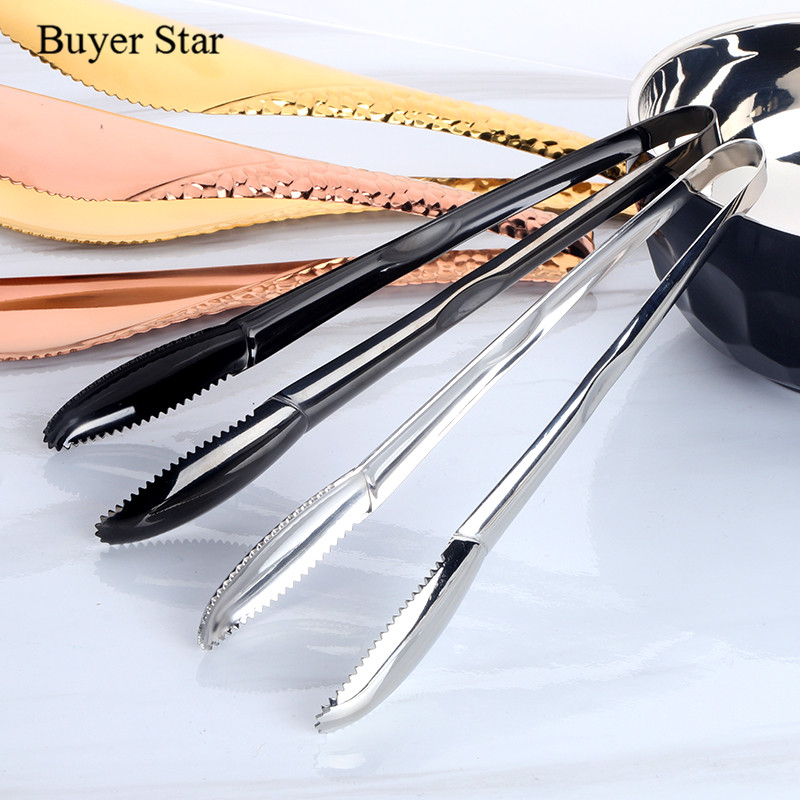 2 Tongs: Aliexpress.com : Buy Stainless Steel Ice Clip 2 Pcs Gold