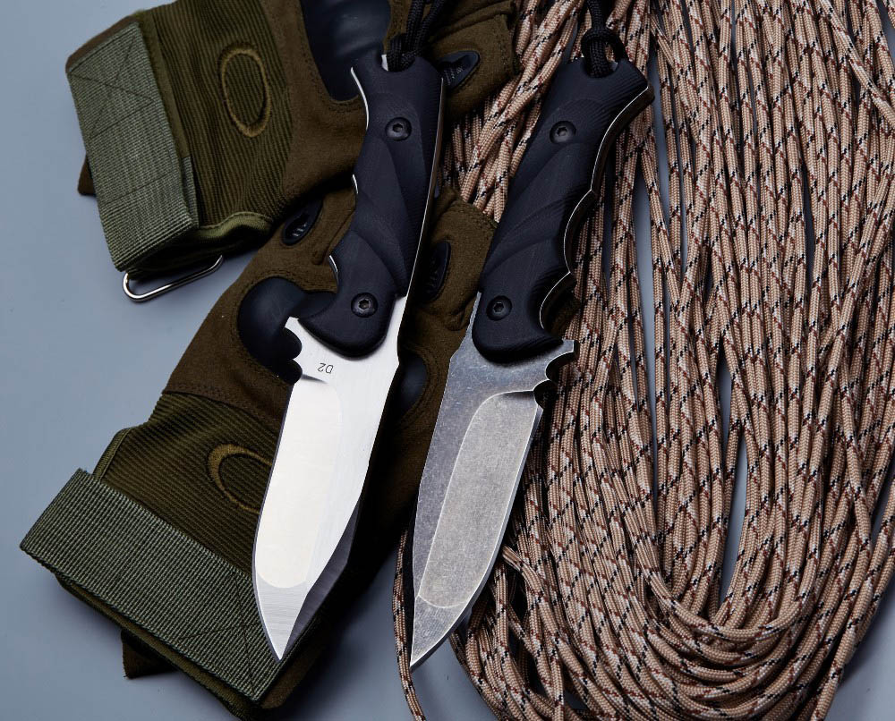 BGT M3 Tactical Fixed Blade Straight Knife With D2 Blade Full Tang - Handgereedschap - Foto 4