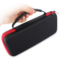 Sanchow 5pcs For Nintend Switch Travel Carry Hard Travel Protective Storage Bag Pouch Console Accessories EVA