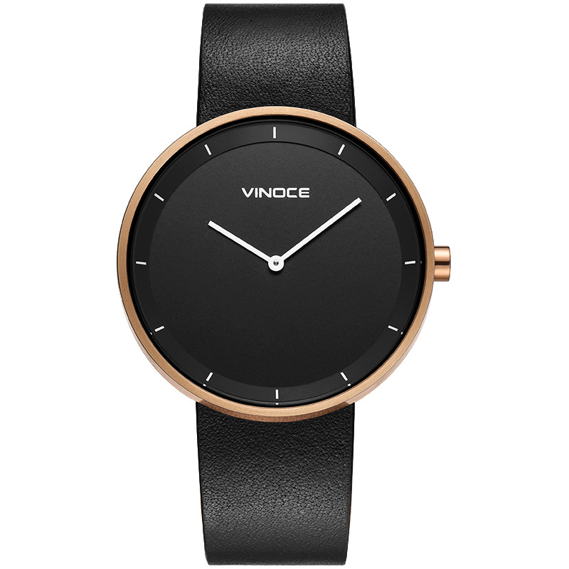 VINOCE Watch Men Luxury Brand Quartz Wrist Watches Fashion Casual Leather Waterproof Watch Relogio MasculinoVINOCE Watch Men Luxury Brand Quartz Wrist Watches Fashion Casual Leather Waterproof Watch Relogio Masculino