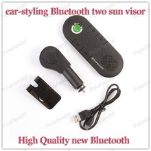Bluetooth hands-free intercom system The new Bluetooth mini car-styling Bluetooth hands-free car dragging two sun visor