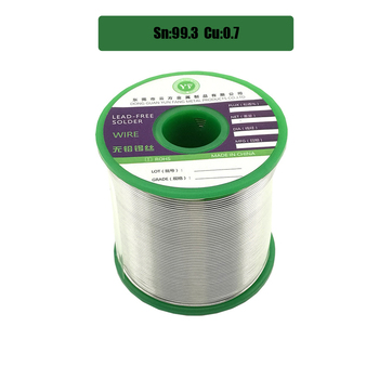 1000g Lead Free Solder Wire Health Sn:99.3% Tin Wire Melt Rosin Core Big Roll Model:Sn99.3-0.7Cu